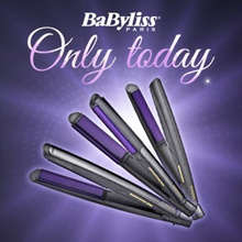 [Babyliss] NEW DIAMOND CERAMIC Straightener ST330K Hair Curler fan