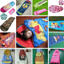 Sleeping Bag for kids toddlers [Assorted designs] Nap Mat Adult Outdoor camping gear