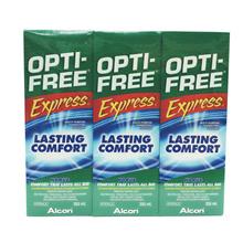 Alcon Opti-Free Express Multipurpose Contact Lens Cleaning 335ml X 3
