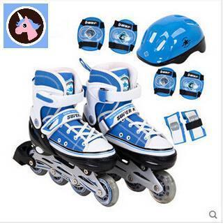 8e568977a1 Adjustable roller skates suit inline skates roller skates skate shoes for  children-LHYD-LHX