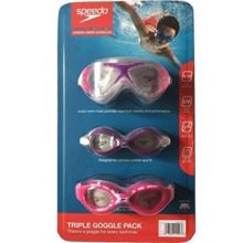 Speedo Junior Goggle 3-pack (purple color)