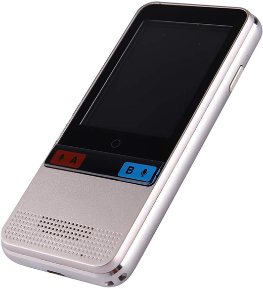 Smart Voice Language Translator Device,Real-time Two-Way Offline Speech//Text WiF
