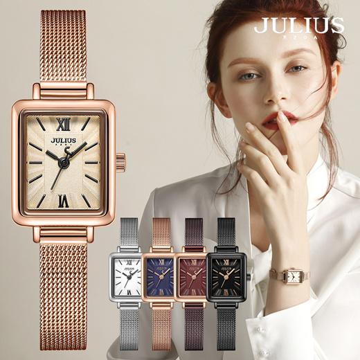 [S$50.41][JULIUS][JULIUS] JA-1153 Korean design/mesh band/fashion wristwatch/female mesh watch/womens wristwatch