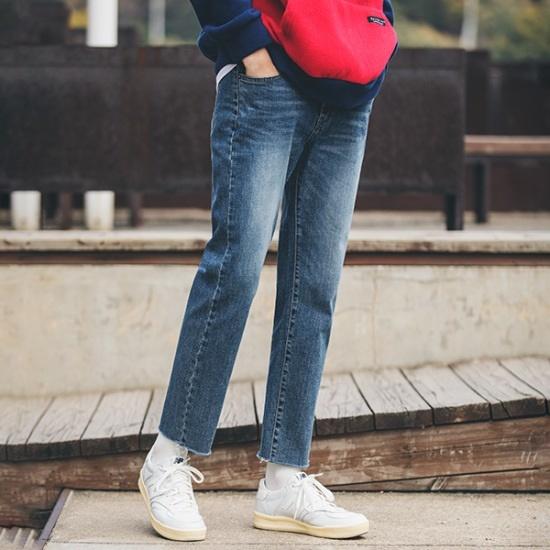 ベストフレアハーフワンピースM2973 無地ワンピース/ワンピース/韓国ファッション
