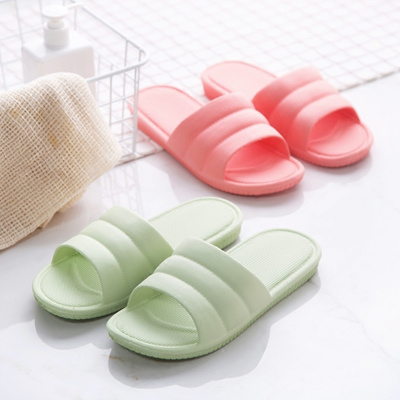 0638742028c3 Plastic non-slip slippers summer indoor couple home shoes bathroom men and  women thick soft