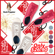 Hush Puppies Schnoodle Sneakers In Blue/Coral/Mauve/Navy/Pink/Taupe(Women) Blk/Dark Grey/Navy(Men)