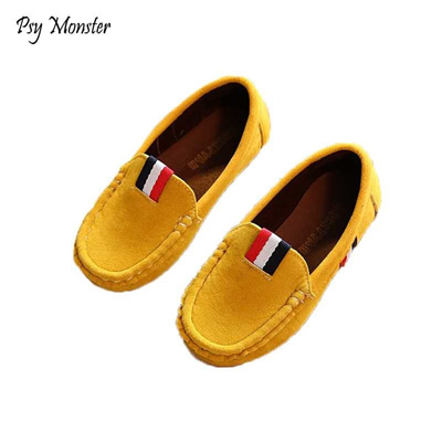 1cd32ce4f7 store 2018 New Autumn Boys Children Shoes Kids Boys PU Leather Shoes Kids  Moccasin Loafers Toddlers