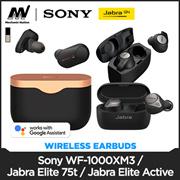 [Best Price with Warranty] JABRA ELITE 75T   JABRA ELITE 65T ACTIVE Local Seller 12 Months Warranty