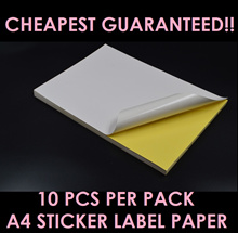 [[ CHEAPEST GUARANTEED ]] A4 STICKER LABEL PAPER MATTE