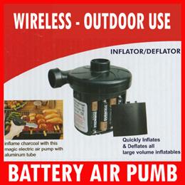 Battery Electric air Pump / Electrical Air Bed Pump*Air Sofa*Air swim rings*Inflation +Deflation
