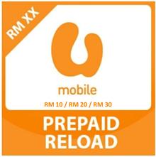 U MOBILE Prepaid and Postpaid RM10 / RM20 / RM30