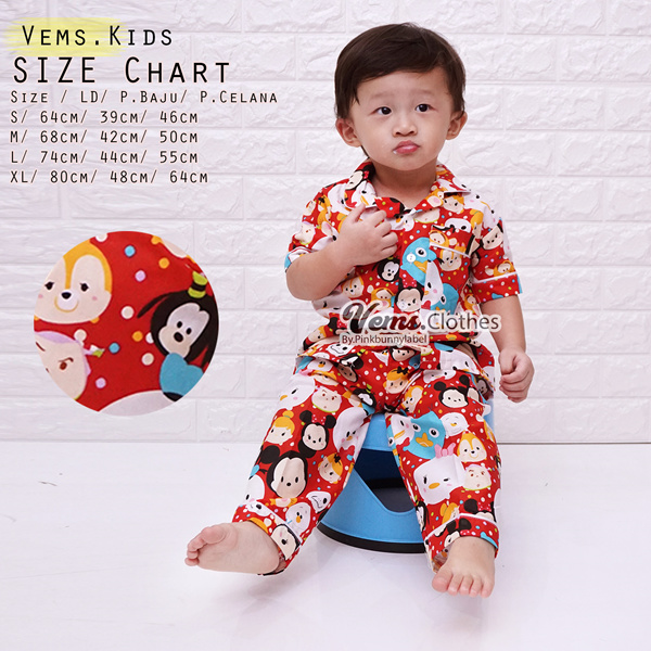 NEW ARRIVAL PAJAMAS ANAK Deals for only Rp65.000 instead of Rp65.000