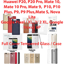 Full Cover Tempered Glass/Case*Google Pixel 2 XL/2 2XL Huwaie Mate 10/9P20P20 Pro P10P10 Plus