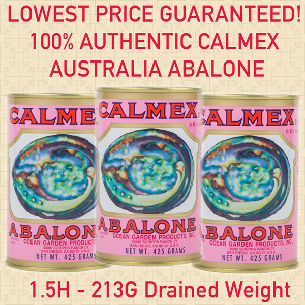 [USE COUPON HERE]?JUMBO CALMEX ABALONE100% Genuine if not money back! Deals for only S$158 instead of S$0