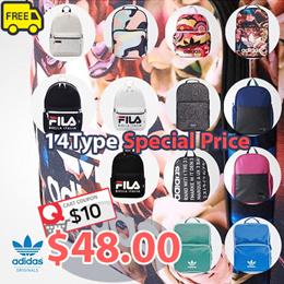 1de2893129a8 COUPON ·  ADIDAS  FILA  ♥Get Qoo10 Coupon  10♥ 18Type Backpack Collection