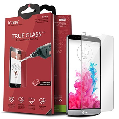 Qoo10 - iCarez Tempered Glass Screen Protector for iPhone 8 Plus iPhone 7 Plus 55-inch Highest Quality Easy Install 033MM 9H 25D 2-Pack with Lifetime ...