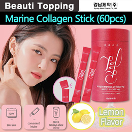 [LEMONA] 2MTH SUPPLYGYEOL Collagen Stick (60pcs/Lemon Flavor)/Marine Collagen/BTS Recommended