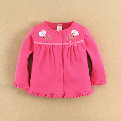 3ae768d9d76c Kinbi girls spring coat cotton baby baby cardigan jacket coat spring  children s clothes  Rating  0  S 5.80~  S 9.00 S 4.50