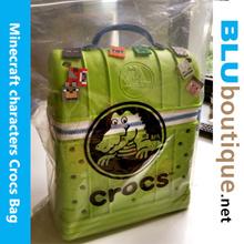 Minecraft bag kids baby zip-top Backpack Rucksack zip-top backpack children boys girls BAG bag bag