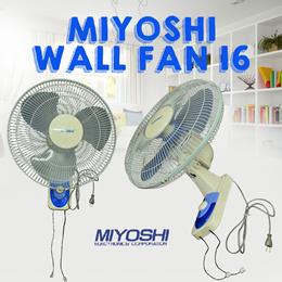 Miyoshi Wall Fan 16 Kipas Angin Dinding Dengan Harga Paling Murah_Free Ongkir Jabodetabek