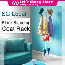 ◆Local Fast shipping◆Floor Standing Coat Rack◆clothes hanger/ garment rack/ standing hanger/ Fast de