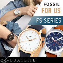 {LUXOLITE} 100% AUTHENTIC FOSSIL WATCHES FOR MEN FS SERIES!!! FREE SHIPPING!