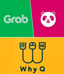 Grab Gift (Ride/Food) / FoodPanda/ WhyQ Voucher Fast Delivery eTicket