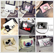 2 DAY PROMOTION  La Belle💐 [Buy 10 FREE shipping ] 2016 NEW Mickey cartoon printed clutch bag