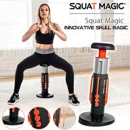 Squat Magic 创新蹲式魔术健身器锻炼臀部训练器腹肌大腿原创设计