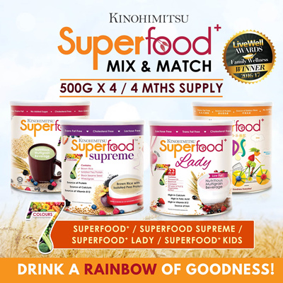 2987ce0ccbc6 [4MTH SUPPLY] Superfood (500gx4Tin) Superfood+/Superfood+ Lady/Superfood+  Kids/