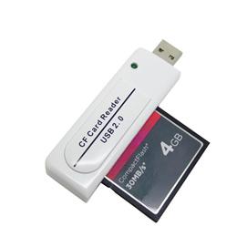USB 2.0 CF Card Reader Compact Flash Hi Speed for MAC/Windows/Laptop/PC