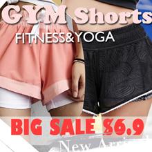 [Moving Peach] Sports shorts Pants Sports wear yoga shorts pants running pants