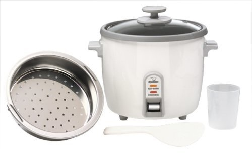 Qoo10 - Zojirushi NHS-10 6-Cup (Uncooked) Rice Cooker/Steamer & Warmer??  White... : Small Appliances