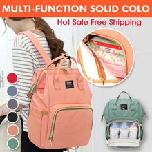 ★Local Shipping★【Ready Stock】Multi-function Backpack | Mummy bag ★Solid Color★Large Capacity