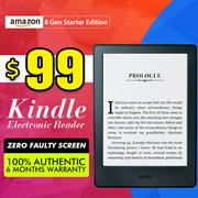 100% Authentic  Amazon Kindle 8th Generation(CN)◎ Kindle Paperwhite 3(USA)