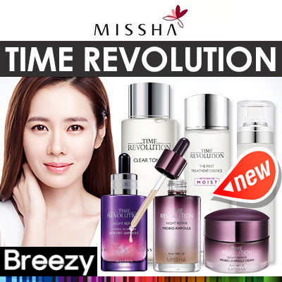 [BREEZY] ? [MISSHA] Time Revolution Clear Toner / Esensi Perawatan / Kabut Perawatan Pertama Deals for only Rp226.300 instead of Rp526.279