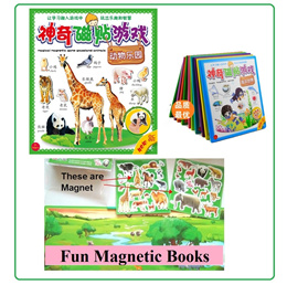 Local Seller Magic Magnetic Games board game education toys reusable Magnet