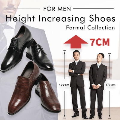 370c9e71d Walking Tall - Men Height Increasing Shoes (Formal)