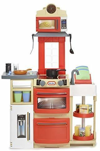 Qoo10 Toys Little Tikes Cook N Store Kitchen Set Red Toys