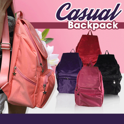 FREE SHIPPING*!CLEARANCE SALE!BEST QUALITY?BRANDED CASUAL BACKPACK Deals for only Rp79.000 instead of Rp79.000