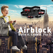 Make Block Airblock Coding Input HANDDOP Manipulation Play Educational Drones