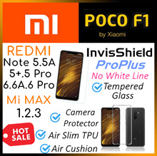 Xiaomi♥Pocophone F1♥Redmi♥Mi Max 3♥S2♥6♥6A♥5 Plus♥Redmi Note 5A♥Tempered Glass♥Full Cover♥Case