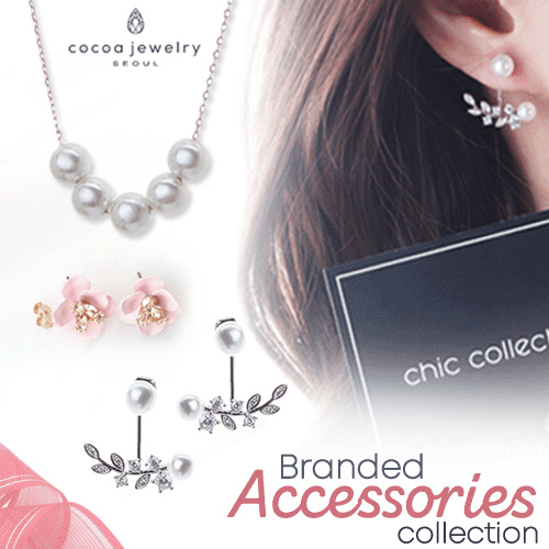 Cocoa Jewelry Premium Accesories Collection_ Earings/ Necklace/ Bracelet