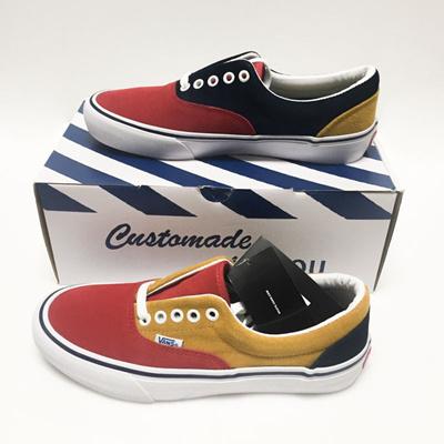 af30506fee VANS Vans 50th Anniversary Era Pro 76 Multi Color Skate Shoes Sz 7.5 100%  AUTHENTIC