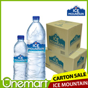 FNN ★ ICE MOUNTAIN SALE ★ PURE DRINKING WATER ★ 600ml x 24 / 1.5L x 12