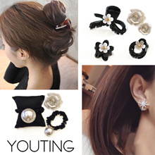 【YOUTING】✨ hair claws clip accessories ✨ earrings hair ties match with dress handbag