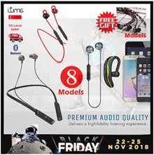 [Buy 1 Get 1 FREE] Bluetooth Earphones | Waterproof | Sports Headset | Hands-free | Earbud