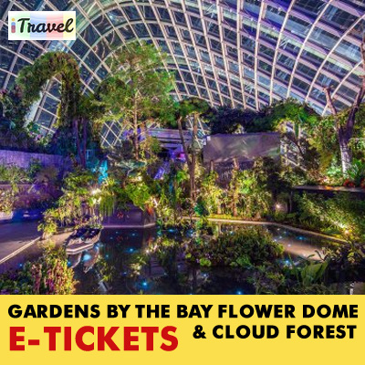 itravel eticketgardens by the bay e ticket for flower dome and cloud - Garden By The Bay Flower Show