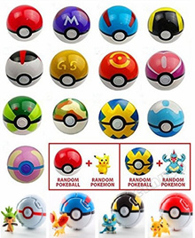 15 Pieces/SET Different Style Ball Including Figures Super Anime Figures Balls for Pokemon Kids Gift
