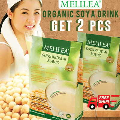 2pcs Melilea Organic Soya Drink Deals for only Rp100.000 instead of Rp100.000